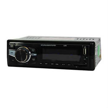 Магнитола  1270 автомобильная универсальная ISO USB флешки + SD карты памяти + AUX + FM (4x50W)