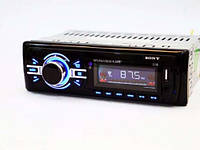 Автомагнитола стильная типоразмер 1DIN Sony 1138 ISO универсальная магнитола для автомобиля