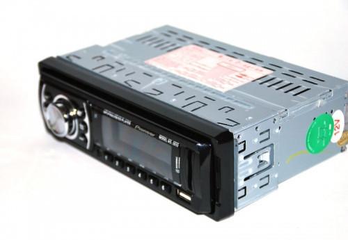 Автомагнитола стандартная Pioneer 2032 магнитола универсальная красная подсветка FM тюнер