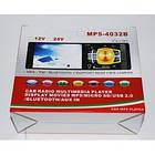 """Автомагнитола Pioneer 4032B Bluetoth - 4,1"""" TFT USB + SD + AUX - DIVX/MP4/MP3 магнитола (панель несъемная), фото 6"""
