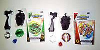 Игра Beyblade 2 вида, 5сезон, с ручкой и верёвочный запуск кор. //