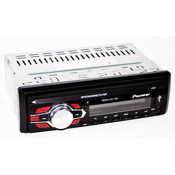 Автомагнітола Pioneer 1091 Знімна панель Usb+Sd+Fm+Aux+ пульт