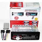 Автомагнитола Pioneer 1091 Съемная панель Usb+Sd+Fm+Aux+ пульт, фото 3