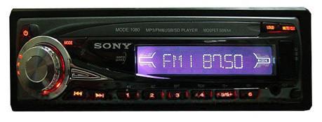 Магнитола с пультом Sony 1080А автомагнитола в машину стерео FM-тюнер с автосканированием