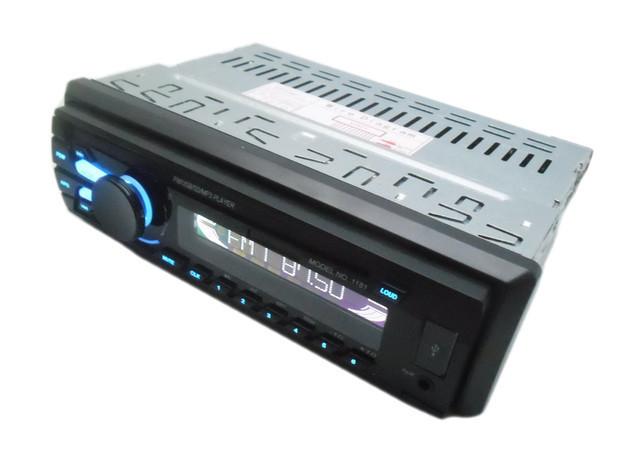 Автомагнитола в машину Pioneer 1181 многофункциональная (MP3, USB, AUX, FM, MicroSD)