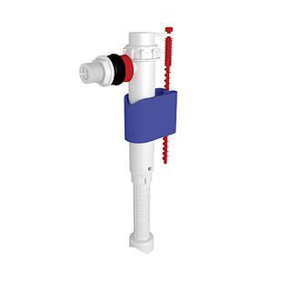 """АНИ Клапан (WC5010) боковой подачи, (ABS) пласт. подключение 1/2"""" телескопический"""