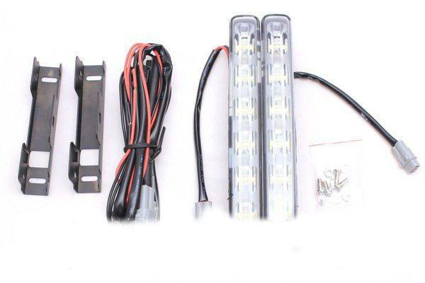 Автомобильные светодиодные универсальные фары дневного света BF-709 дневные ходовые огни