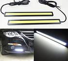 Дневные ходовые огни DRL DIY 2X6W LED автомобильные фары 6 вт универсальные, фото 5