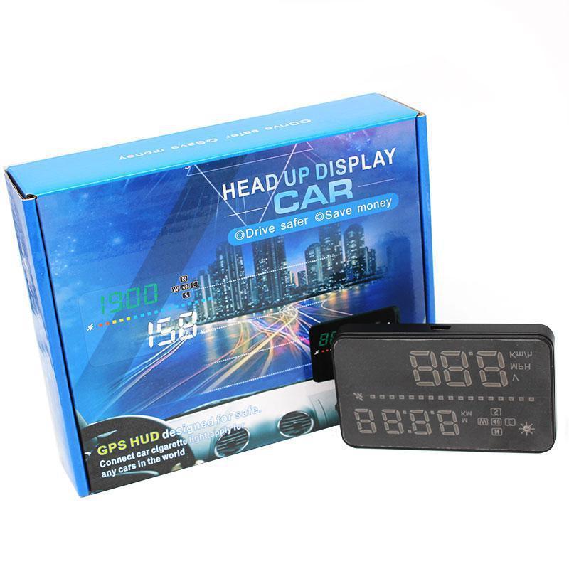 Автомобильный проектор скорости на лобовое стекло HUD A3 (Head-up display)