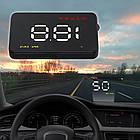 Автомобильный проектор скорости на лобовое стекло HUD A3 (Head-up display), фото 2