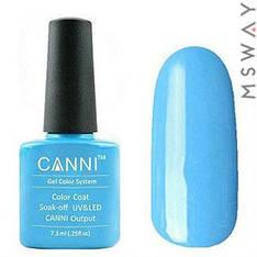 CANNI Гель-лак для ногтей 7.3ml Тон 74 небесно голубой