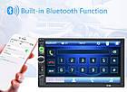 """Магнитола 2 дин  7010B автомагнитола с Экраном 7"""" дюймов сенсор + USB, SD, FM, Bluetooth+КАМЕРА!, фото 4"""