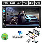 """Магнитола 2 дин  7010B автомагнитола с Экраном 7"""" дюймов сенсор + USB, SD, FM, Bluetooth+КАМЕРА!, фото 10"""