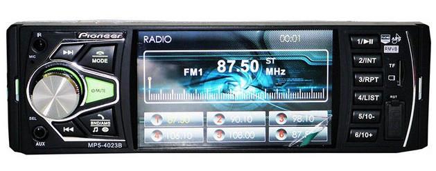 Автомагнитола Pioneer 4023CRB Bluetooth магнитола без диска с видео мп5