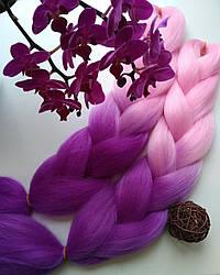 Омбре канекалон пряди  для плетения брейд, причёсок