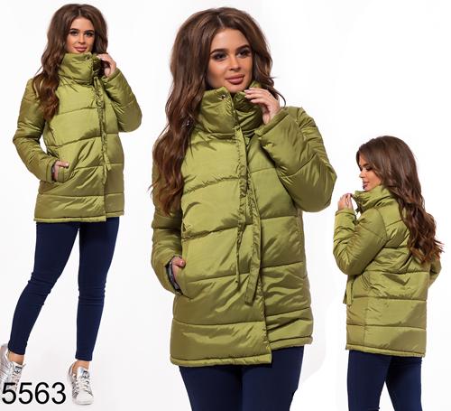 0a0d7814b50 Купить Женская осенняя куртка синтепон 200 черная 824765 Украина ...
