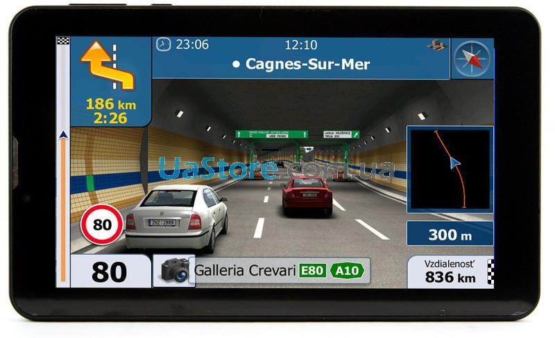 GPS навигатор 7009 GPS 7009 \ram 256mb\8gb\емкостный экран Навигатор в машину