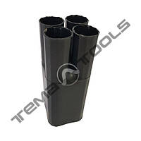 Термозбіжна рукавичка 4-х палая (10-16 мм2) RS4-40/15 (рукавичка термоусаживаемая)