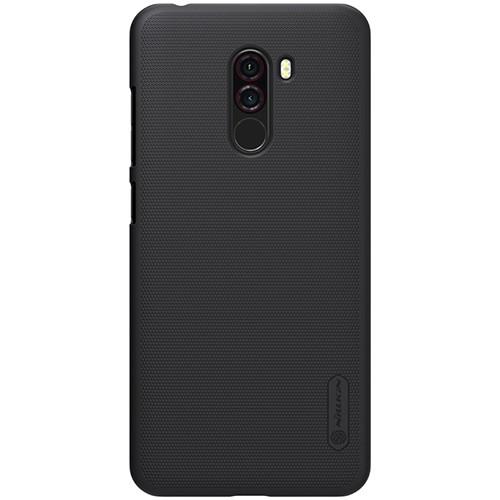 Чехол-бампер Nillkin Super Frosted Shield Black для Xiaomi Pocophone F1
