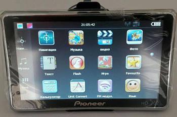 """Gps Навігатор 7"""" автомобільний Pioneer PI-702 HD 4Gb + FM-transmitter, 800 MHz"""