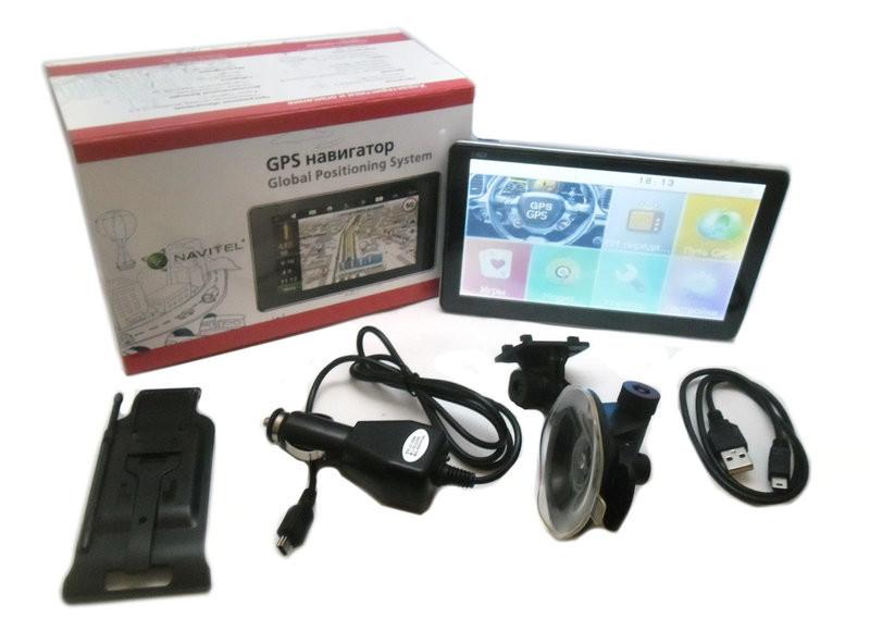 """Сенсорный автомобильный GPS навигатор Navitel 7007 экран 7"""" ram 256mb\8gb\емкостный экран"""