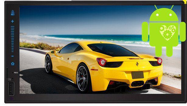 "Мультимедийная Автомагнитола 2DIN 6521 (без диска) Android 6, 3USB/Wi-fi/GPS/BT/7"""