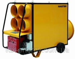 Мобильные дизельные теплогенераторы MASTER непрямого нагрева (с дымоходом)