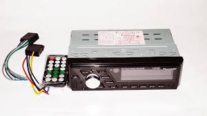 Pioneer 1010BT бюджетная автомагнитола популярная с Bluetooth ISO RGB подсветка