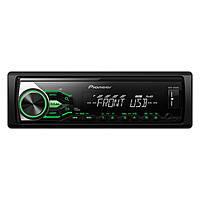 Магнитола USB вход 1DIN pioneer DVD-6104 в автомобиль DVD/CD/MP3+USB+Sd+MMC съемная панель