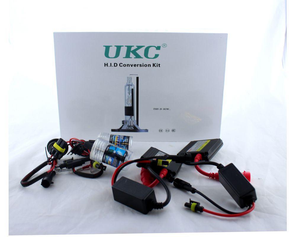 Автомобильные лед лампы UKC Car Lamp H1 (HID комплект ксенона для автомобиля) автосет лед лампы