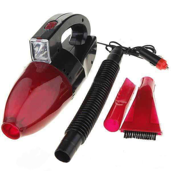 Пылесос для авто CAR VACUM CLEANER автомобильный пылесос удобный от прикуривателя