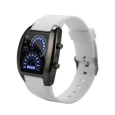 """Стильные силиконовые часы браслет """"Speed LED Watch"""", фото 2"""