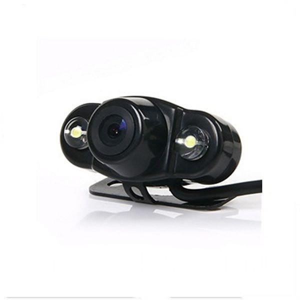 Камера автомобильная врезная автокамера заднего вида CAR CAM QWY 2D ведеокамера