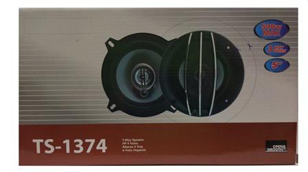 Колонки в машину авто акустика TS-1374 (5'', 3-х полос., 500W) колонки автомобильные динамики