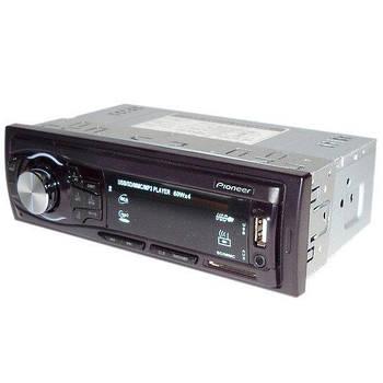 Автомагнітола з євро фішкою популярна MP3 4005U ISO з супроводом незнімна панель