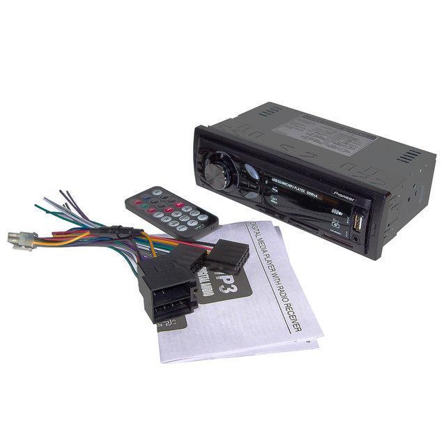 В машину автомагнитола евро фишка популярная крутая MP3 4007U ISO встроенный Bluetooth