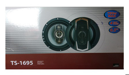Колонки автоакустика TS-1695 6.5'', 4-х полос., 750W автомобильные динамики акустика в машину