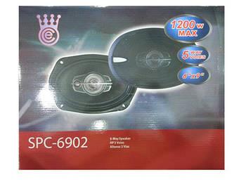 Акустика для атво SP-6902 6''*9'', 5-х полосная мощность колонок автомобильных 1200W овалы