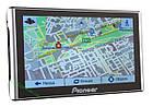 Навигатор портативный 7 Дюймов GPS Pioneer 256mb/8gb Автомобильный навигатор с картами 2018 г , фото 2