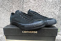 Кеды в стиле Converse all black
