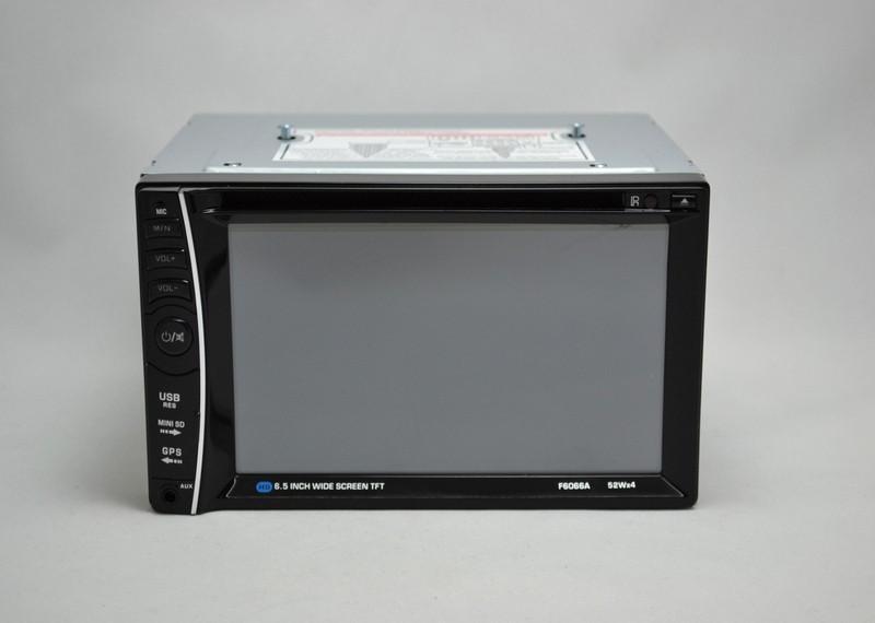 Сенсорная Автомагнитола с DVD + Bluetooth + USB + Радио 6066 магнатола 2 дин