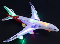 Самолет- авиалайнер светящийся, фото 1