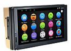 2 Din магнитола мультимедийная автомобильная GPS, WiFi, Bt Android 5+NAVITEL Pioneer 7037 с камерой, фото 3