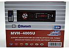 Магнитола автомобильная Pioneer MVH-4005U эврофишка - MP3 Player, FM, USB, SD, AUX копия, фото 4