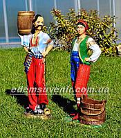 Садовая фигура Козак и Подолянка