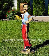 Садовая фигура Козак и Подолянка, фото 3