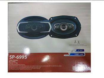 Автоколонки SP-6995 (6''*9'', 5-х полос., 1200W) Колонки в машину автоакустика