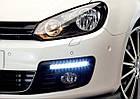 Автомобильные фары LED Ходовые огни DRL-6-Y-W комплект с поворотом, фото 2