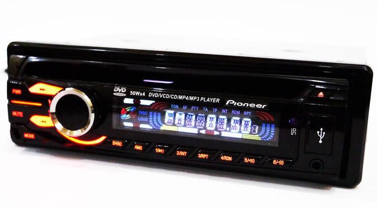 Популярная DVD автомагнитола универсальная Pioneer 3231 магнитола с диском