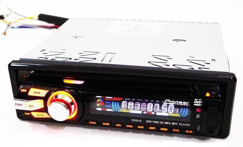 DVD Автомагнитола Pioneer 3201 USB+Sd+MMC съемная панель